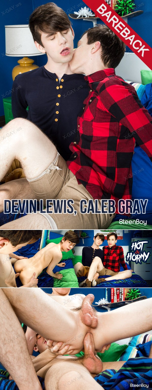8TeenBoy: Devin Lewis, Caleb Gray (Hot and Horny) (Bareback)