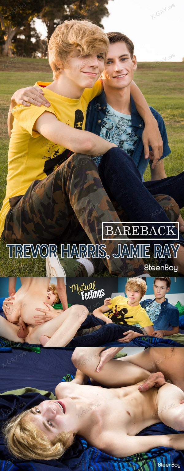 8TeenBoy: Trevor Harris, Jamie Ray (Mutual Feelings) (Bareback)