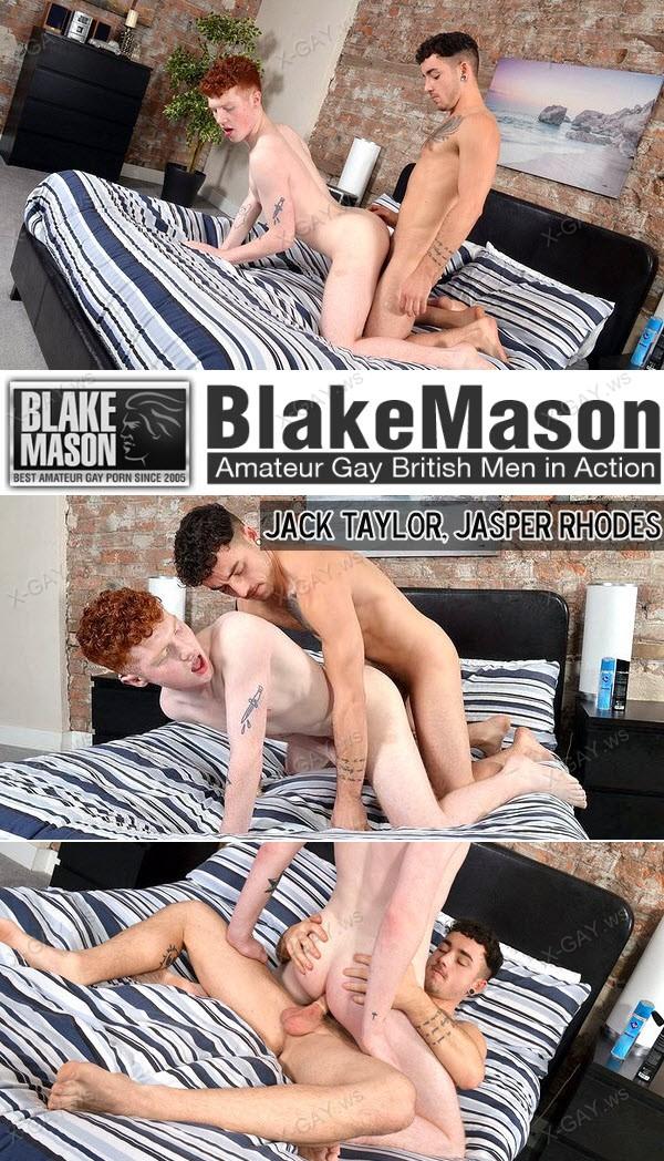 BlakeMason: Jack Taylor, Jasper Rhodes (Jasper Gets It Rough From Jack)