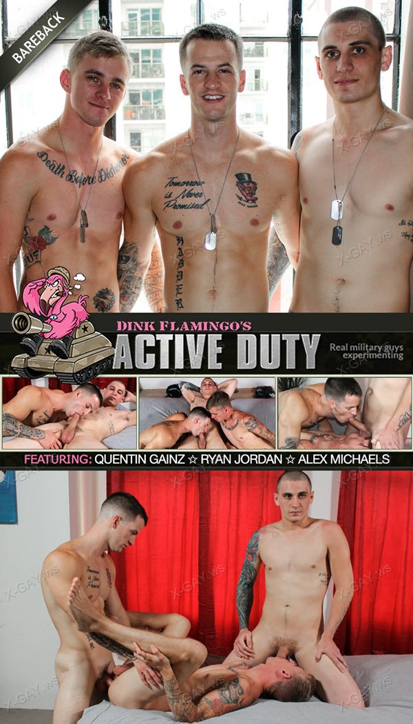 ActiveDuty: Alex, Quentin Gainz, Ryan Jordan
