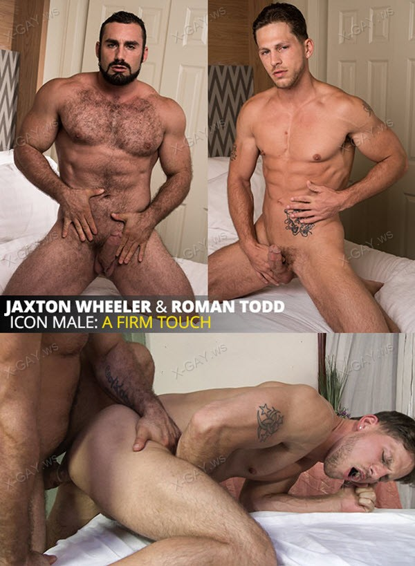 IconMale: Jaxton Wheeler, Roman Todd: A Firm Touch