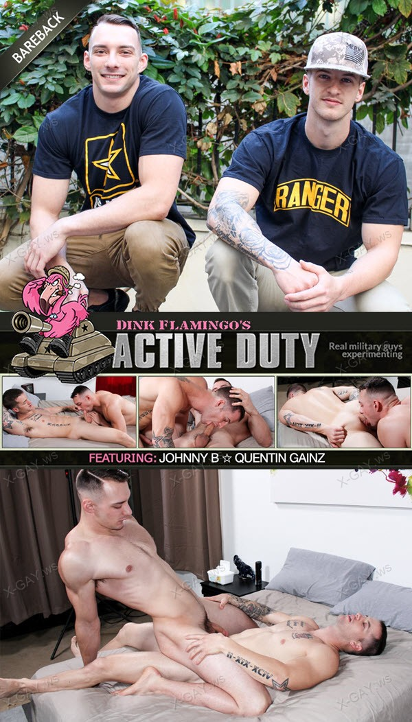 ActiveDuty: Quentin Gainz, Johnny B (Bareback)