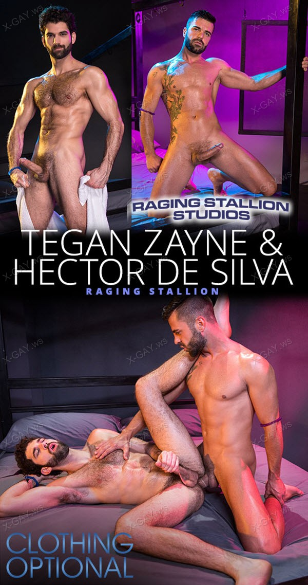 RagingStallion: Tegan Zayne, Hector De Silva: Clothing Optional