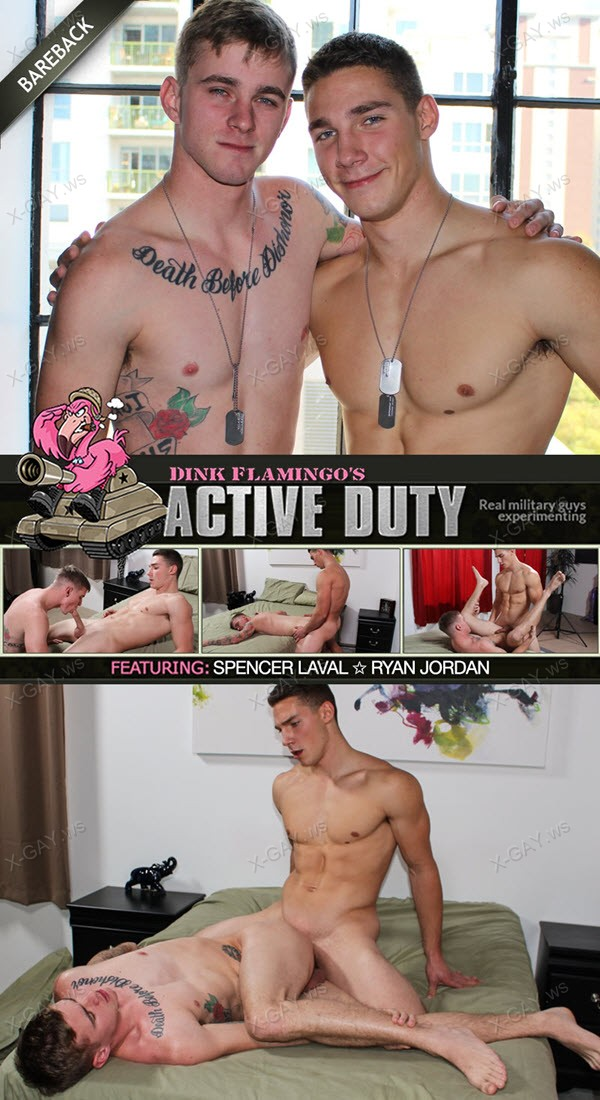 ActiveDuty: Ryan Jordan, Spencer Laval (Bareback)