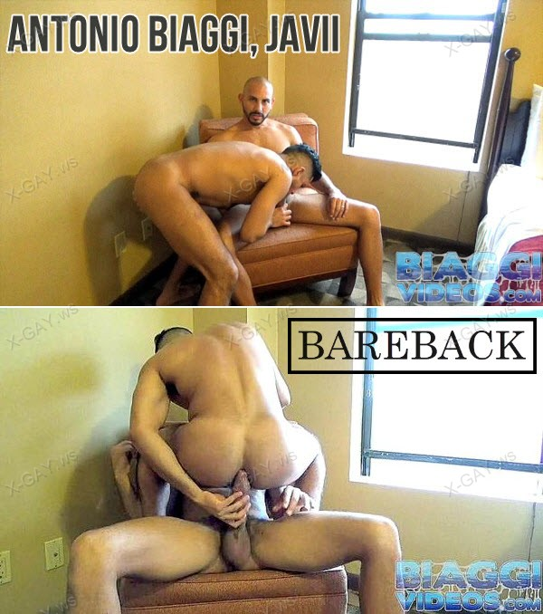 BiaggiVideos: Antonio Biaggi, Javii (NYC Latino) (Bareback)