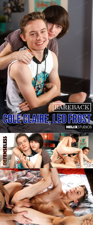 HelixStudios: Cole Claire, Leo Frost (Defenseless) (Bareback)