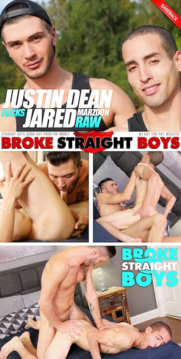 BrokeStraightBoys: Justin Dean Fuck Jared Marzdon Raw And Hard