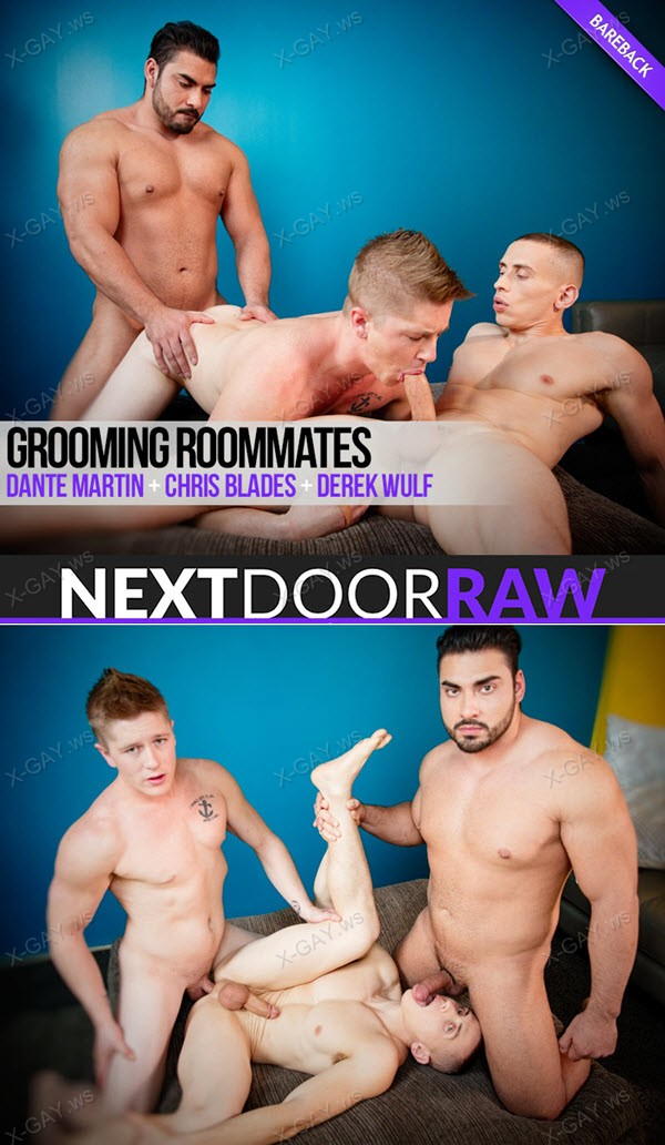 NextDoorRaw: Dante Martin, Chris Blades, Derek Wulf: Grooming Roommates