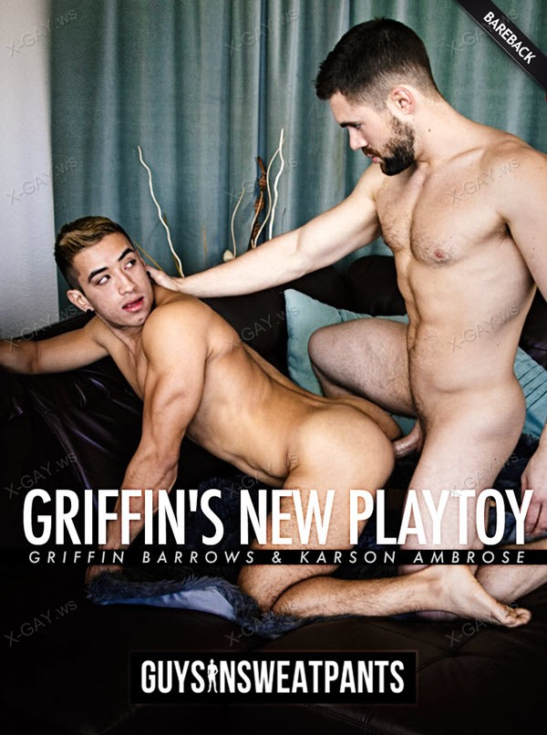 GuysInSweatpants: Griffin Barrows, Karson Ambrose: Griffin's New Playtoy