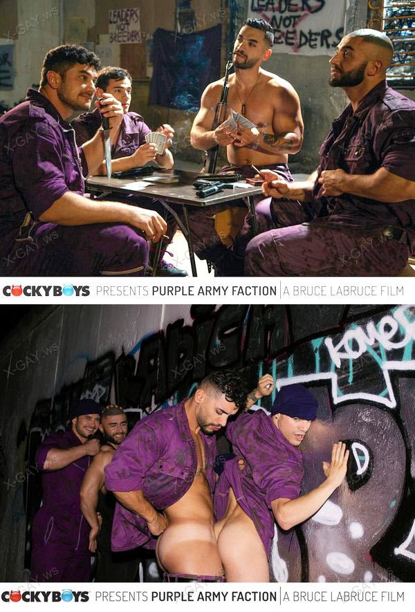 CockyBoys: Arad Winwin, Dato Foland, Francois Sagat, Levi Karter: Bruce LaBruce's Purple Army Faction