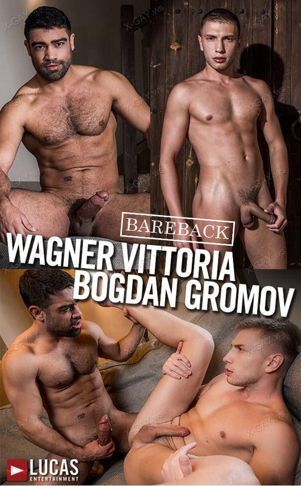 LucasEntertainment: Wagner Vittoria Tops Bogdan Gromov Bareback