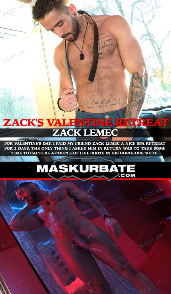 Maskurbate: Zack's Valentine Retreat