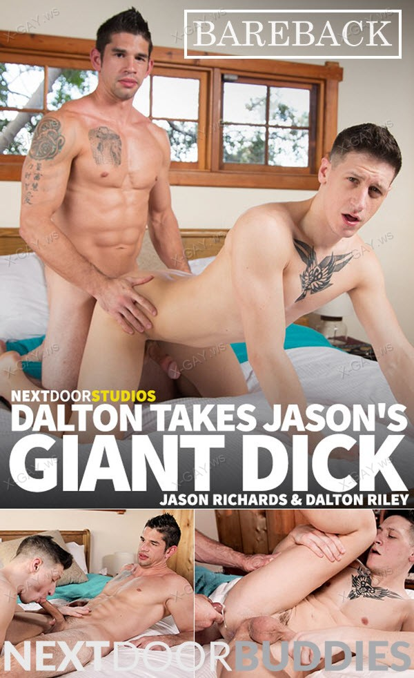 NextDoorBuddies: Dalton Riley, Jason Richards (Dalton Takes Jason's Giant Dick) (Bareback)