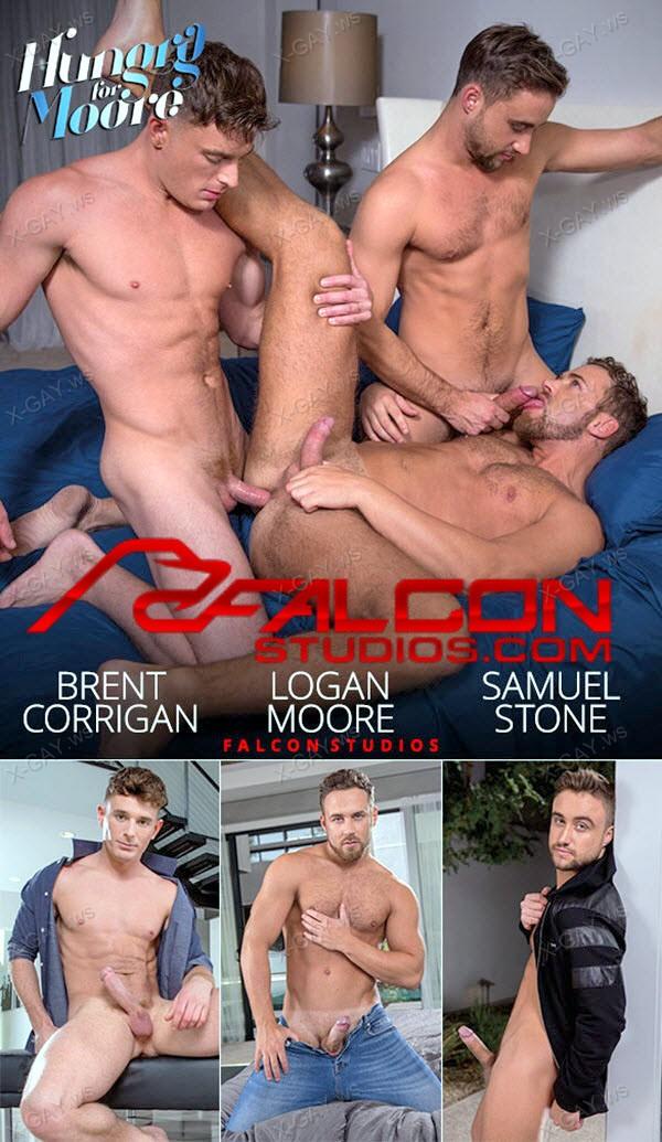 FalconStudios: Brent Corrigan, Logan Moore, Samuel Stone: Hungry for Moore