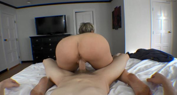 Face down ass up blonde