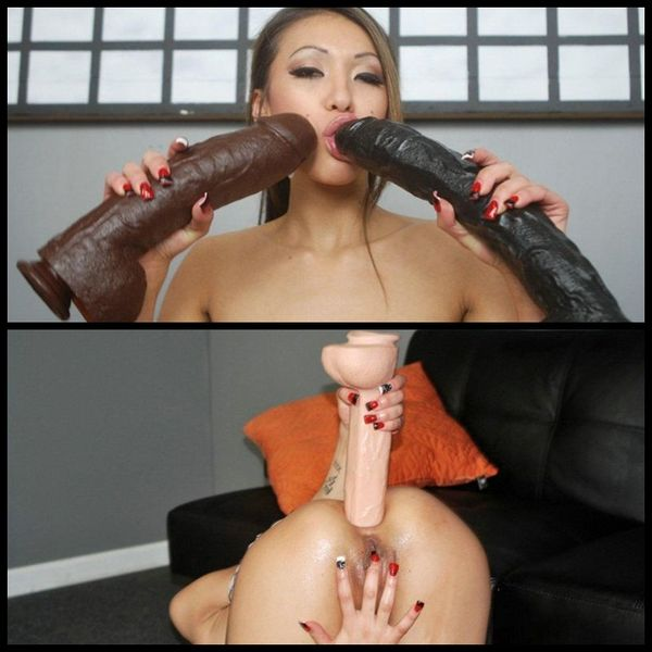 (27.03.2014)  JAYDEN LEE HUGE ANAL DILDOS