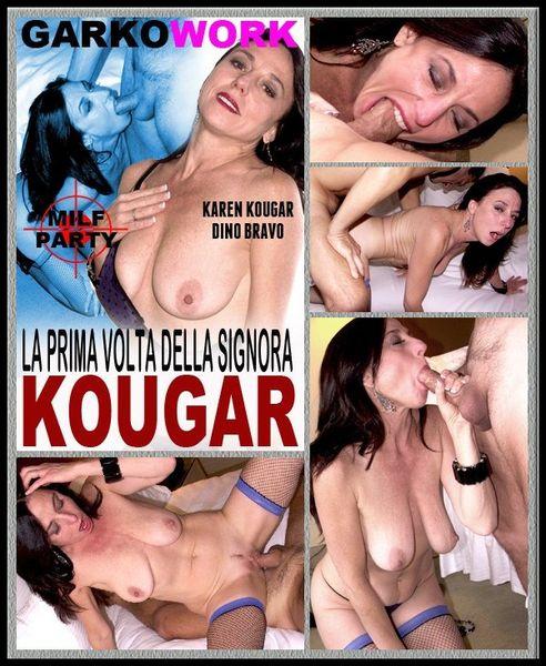 (12.04.2014) LA PRIMA VOLTA DELLA SIGNORA KOUGAR