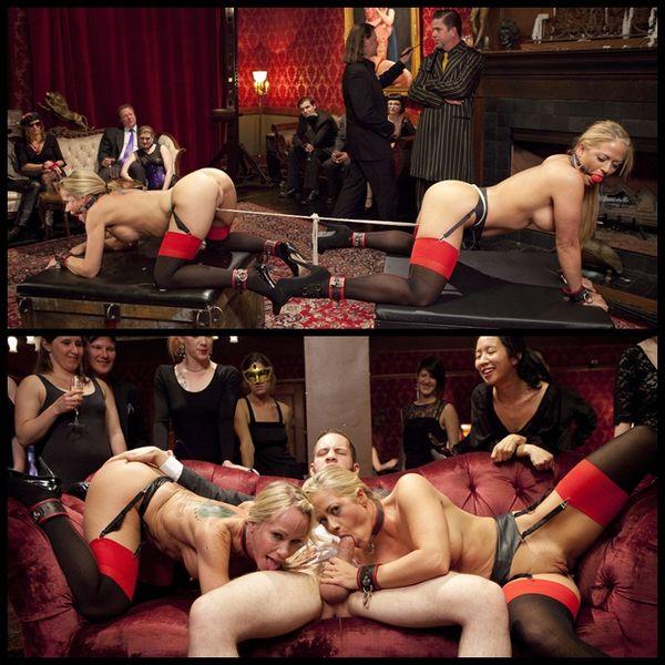 (18.04.2014) Sex Slave MILFs Service Hot Stud Dick