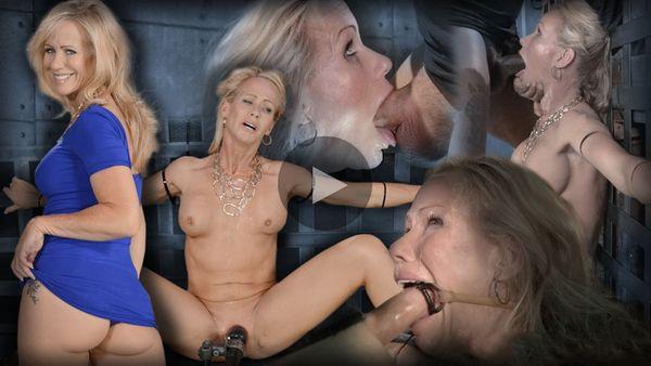 (08.07.2014) RTB - Impresionante Simone Sonay zictied down, brutal mamadas en la BBC, castigando deepthroat mientras vibraba
