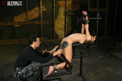 Strict Restraint - Sir Nik and Slave - Caddy Compson