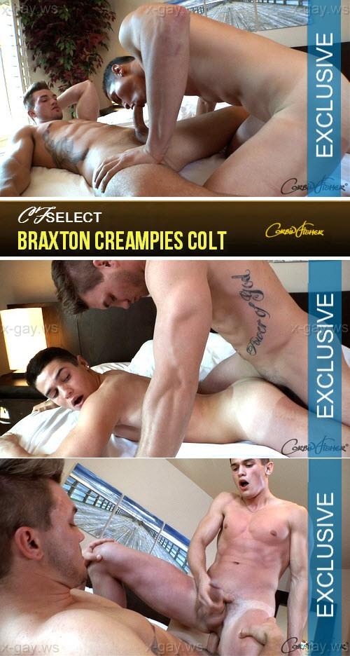CorbinFisher – CFSelect – Braxton Creampies Colt, Bareback