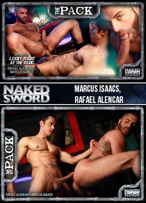 NakedSword – Marcus Isaacs & Rafael Alencar