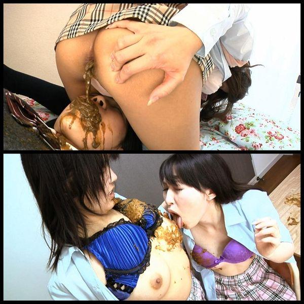 School Girl Scatologic Lesbians 1-4