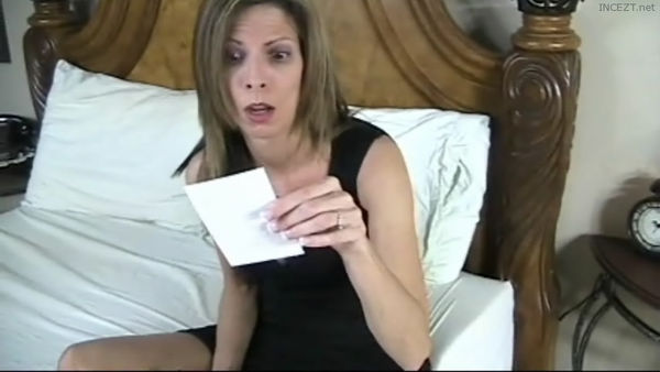 Son blackmails mom for anal