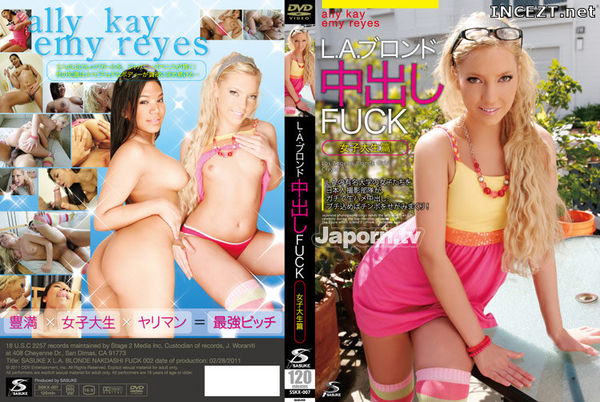 Cover [SSKX-007] Ally Kay, Emmy Reis Ally Kay, Emy Reyes: college student Hen – Fuck Vol.2 out blonde in LA