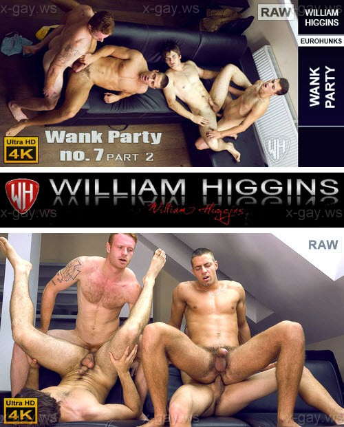 WilliamHiggins – Wank Party 2014 #7, Part 2 RAW