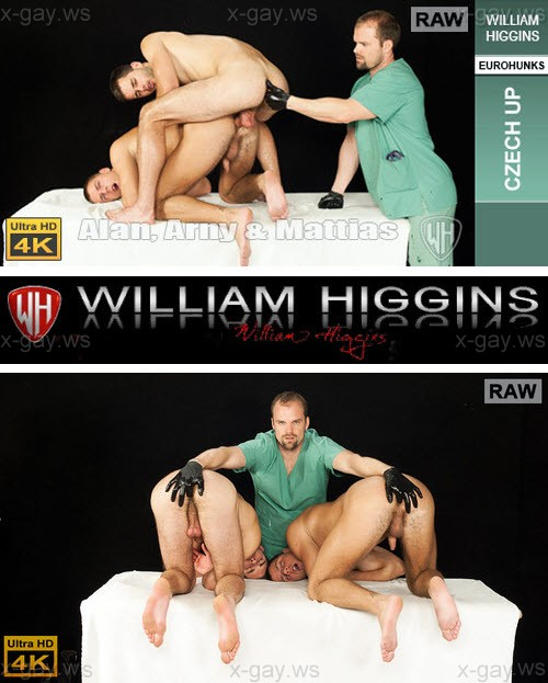 WilliamHiggins – Arny Donan, Alan Carly & Mattias Solich, RAW