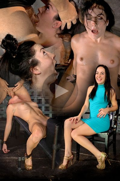 (05.11.2014) Spunky Marley Blaze gets restrained on a sybian and does epic drooling deepthroat on 10 inch BBC