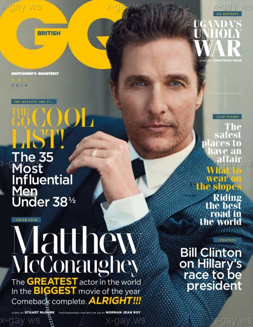GQ Magazine – UK – December 2014