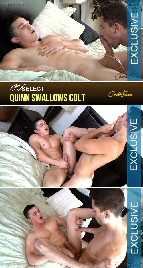 CorbinFisher – CFSelect – Quinn Swallows Colt, Bareback