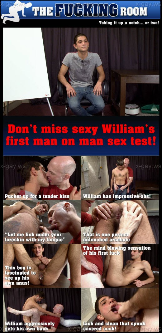 TheCastingRoom – William & Adrian – The Fucking Room, Flip-Flop