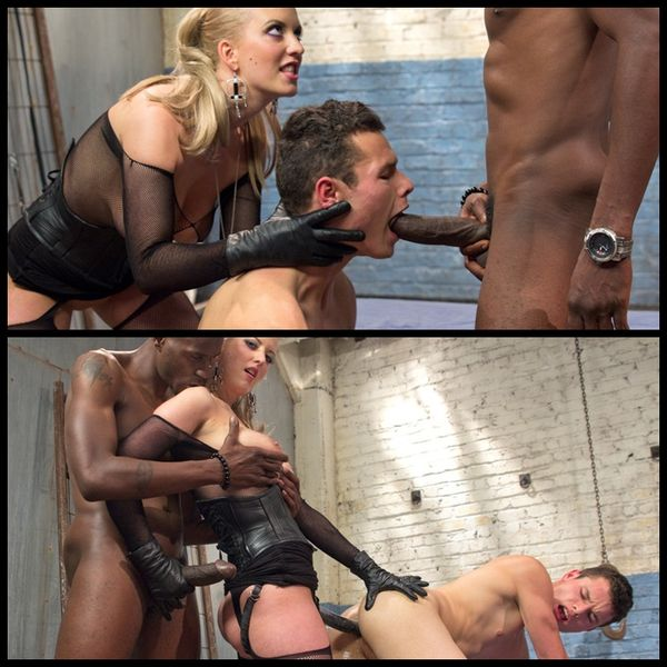 (03.12.2014) Mistress Cherry Torn's Big Black Bull And Young Cuck
