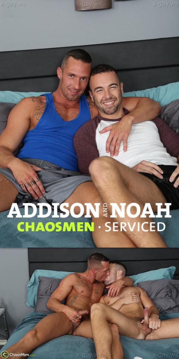 ChaosMen – Addison & Noah Riley: Serviced