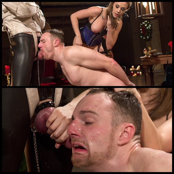 (24.12.2014) Coerced Cock-Sucking Christmas Dungeon