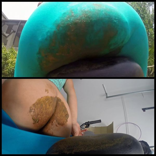 Shit Covered Bike Seat – Solo Scat, Panty Pooping, Shitting