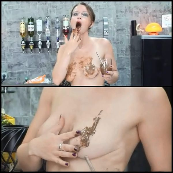 Dirty-Talk: Scheiße auf den Titten – Solo Scat, Shitting
