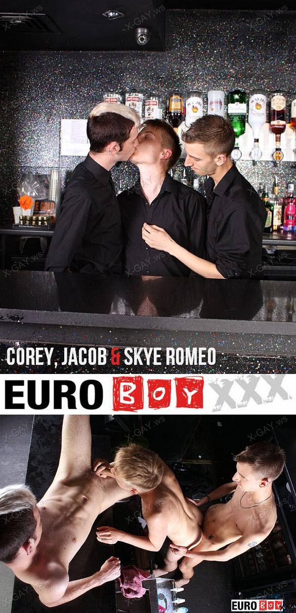 EuroBoyXXX – Corey, Jacob & Skye Romeo