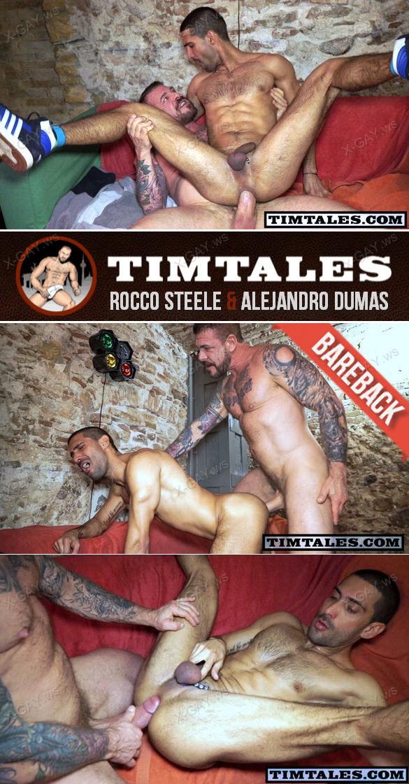 TimTales: Rocco Steele & Alejandro Dumas (Bareback)