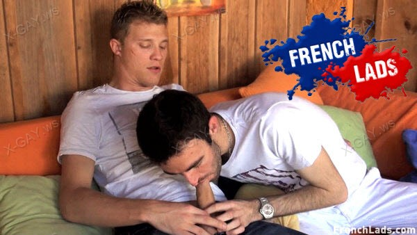 FrenchLads: New Guy Kyle Can Barely Take The Fucking (Kyle, Kameron Frost)
