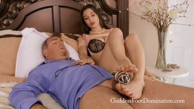 Goddess Foot Domination - Nobody has to know Goddess Alexis