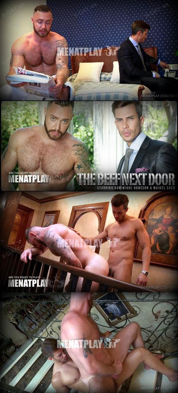 MenAtPlay: Beef Next Door (Dominique Hansson, Maikel Cash)