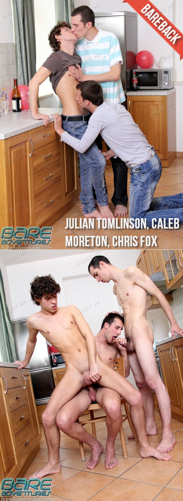 BareAdventures: Julian Tomlinson, Caleb Moreton, Chris Fox