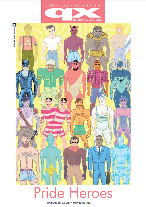 QX Gay London Magazine, N 1059 (June 25, 2015)