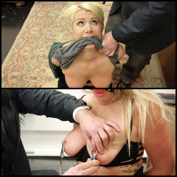 (03.07.2015) Double Penetrating the Submissive Secretary