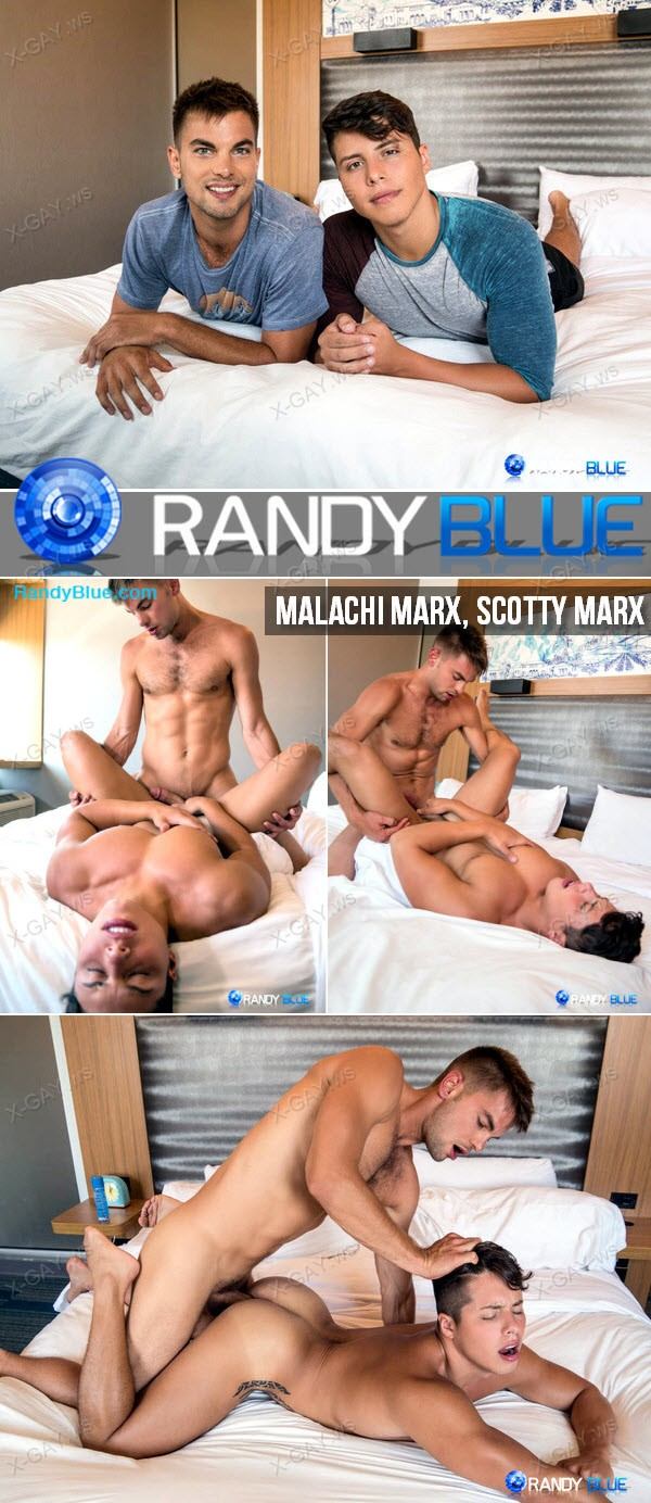 RandyBlue: Malachi Marx, Scotty Marx (Bareback)
