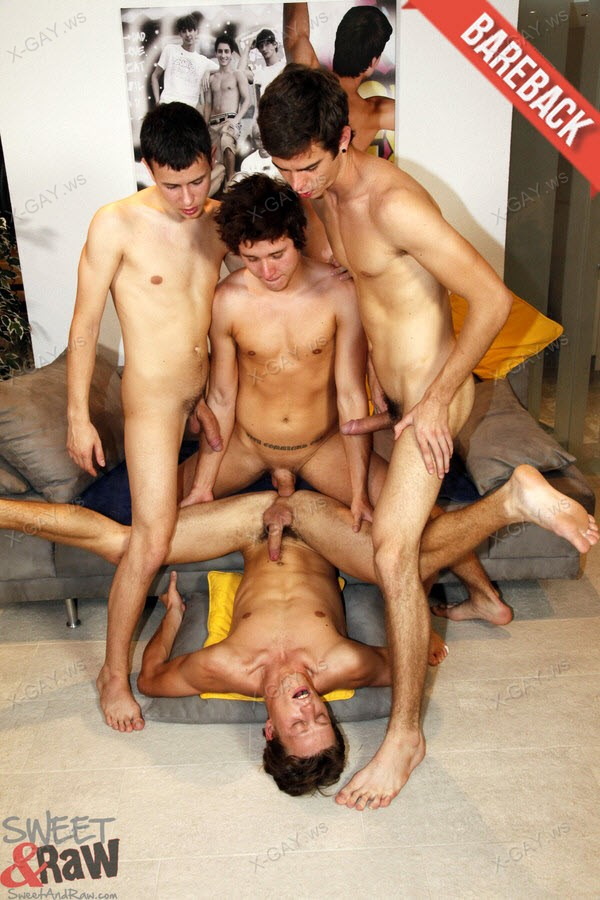 SweetAndRaw: Ronny Howard, Billy Webster, Sam Brooks, Carl Baxter (Bareback)